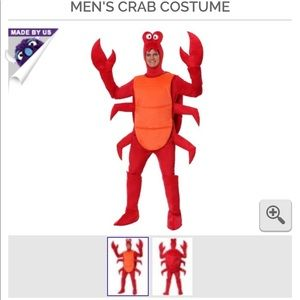 Other - LIKE NEW men's lobster/crab Halloween costume XL